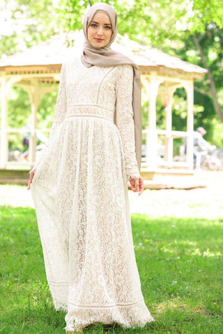 Daisy Pleated Maxi Dress