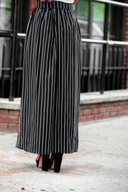 Pinned Striped Belted Maxi Skirt-Clearance - Abaya, Hijabs, Jilbabs, on sale now at UrbanModesty.com