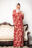 Spiced Floral Pleated Maxi Dress-CLEARANCE-Maxi Dresses-Urban Modesty Inc.