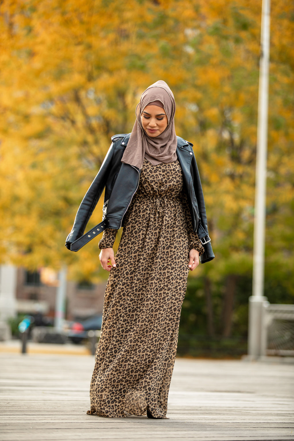 Striped Non-Sheer Maxi Cardigan-PREORDER - Abaya, Hijabs, Jilbabs, on sale now at UrbanModesty.com