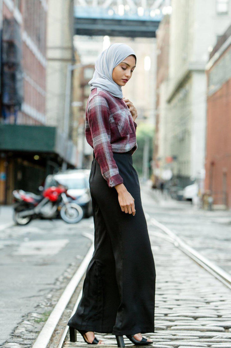 Black Pencil Maxi Skirt-Clearance - Abaya, Hijabs, Jilbabs, on sale now at UrbanModesty.com