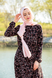Pale Pink Shimmer Hijab Head Scarf-Clearance - Abaya, Hijabs, Jilbabs, on sale now at UrbanModesty.com