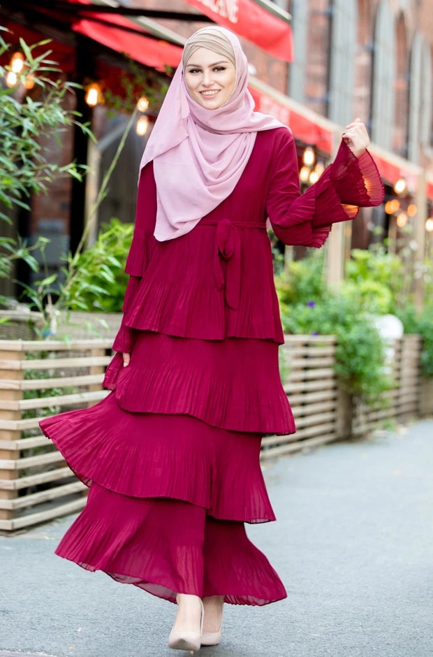 Ruby Rose Ruffle Sleeve Maxi Dress-PREORDER
