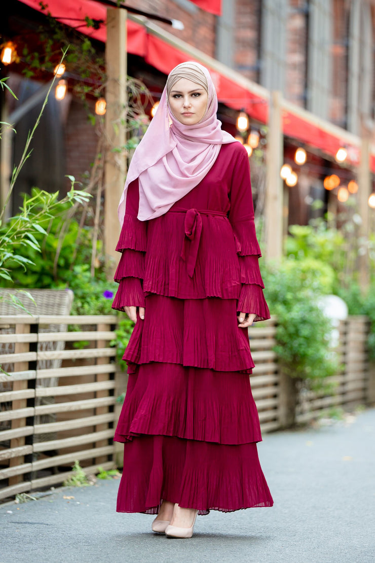 Ruby Rose Ruffle Sleeve Maxi Dress-Clearance