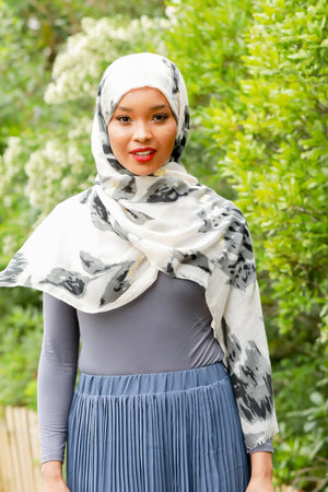 Gray Turtle Neck Top - Abaya, Hijabs, Jilbabs, on sale now at UrbanModesty.com