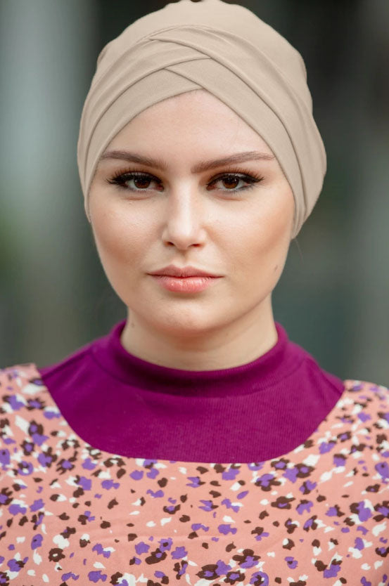 Criss-Cross Tube Hijab UnderScarf (More Colors Available)