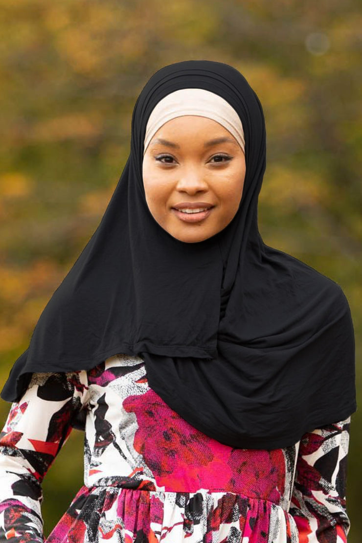 Instant Jersey Hijab (More Colors Available)