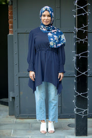 Drawstring Tunic Top (More Colors Available)