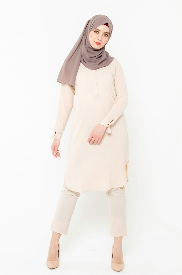 Oatmeal Tunic & Pant Set