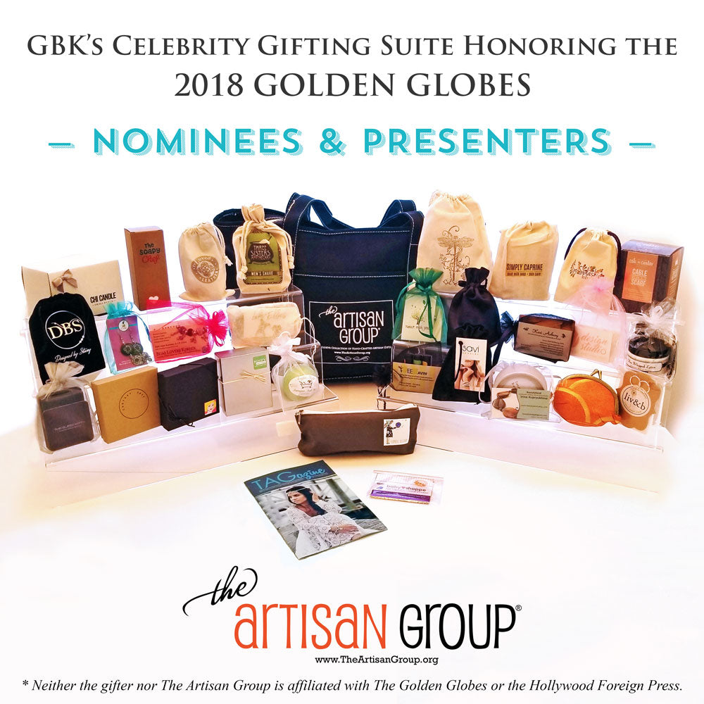 Celebrity Gifts - GBK's Gifting Suite Honoring the 2018 Golden Globes
