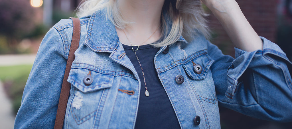 Denim Deets with Linn Style Blog