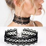 Lacy Lovely Ultra Soft Wide Lace Choker