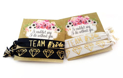 Team Bride Hair Ties Set