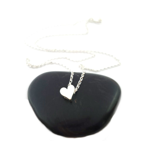 Heart Slide Necklace - Sterling Silver Jewelry