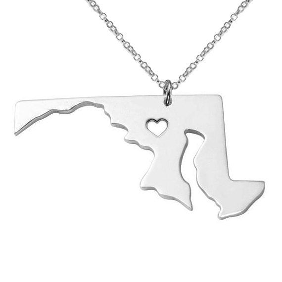 Maryland State Necklace