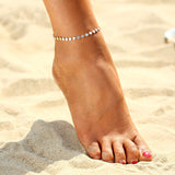 Coin Sequin Bohemian Adjustable Anklet