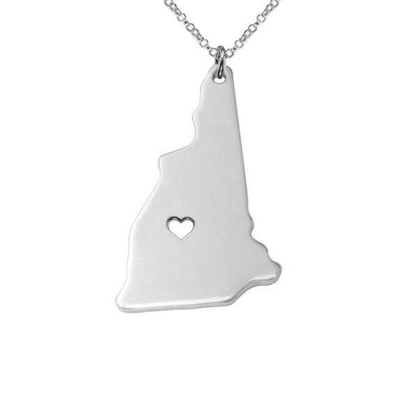 New Hampshire State Necklace