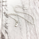 Little Bean Necklace - Sterling Silver - Friendship Necklace - Gift for Her