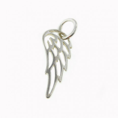 Add a Sterling Silver Tiny Angel Wing or Bird Wing Charm