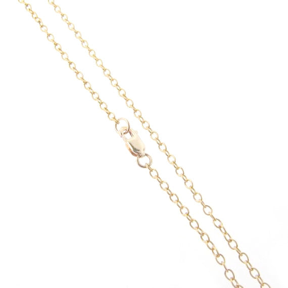 Medium Gold Filled Cable Chain