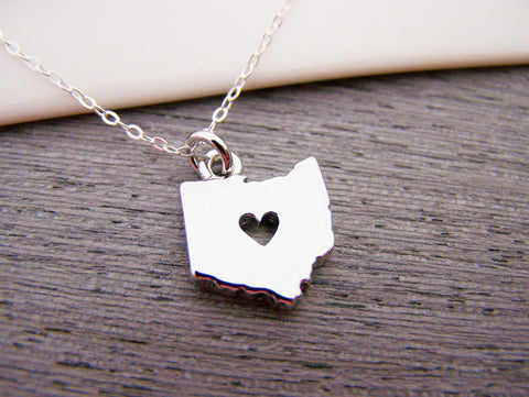 Ohio state heart cut out charm sterling silver necklace gift for ohio state heart cut out charm sterling silver necklace gift for her ohio necklace aloadofball Gallery