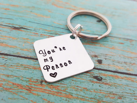 You're My Person Key Chain