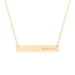 Mama Bar Necklace