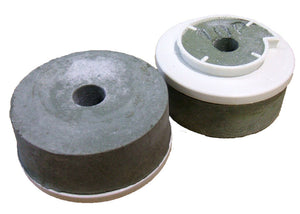 ABRESSA SNAIL BACK 100MM (M) WET POLISHING ABRASIVE SMALL HOLE