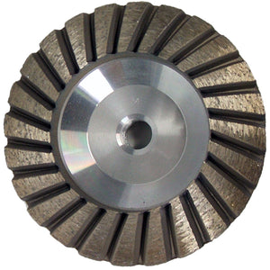 CONVEX TURBO DIAMOND CUP WHEEL