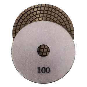 BK COPPER BOND POLISHING PAD 100MM
