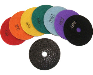 DIAREX ECONOMY WET POLISHING PAD 100MM