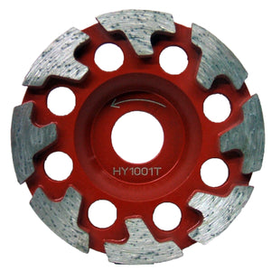 DIAMOND T-CUP WHEEL FOR GRINDING