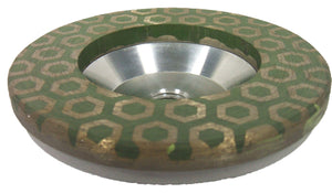TURTLE RESIN TURBO DRY GRINDING CUP 100mm