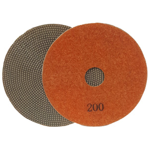 ZL ELECTROPLATED POLISHING PAD 100MM