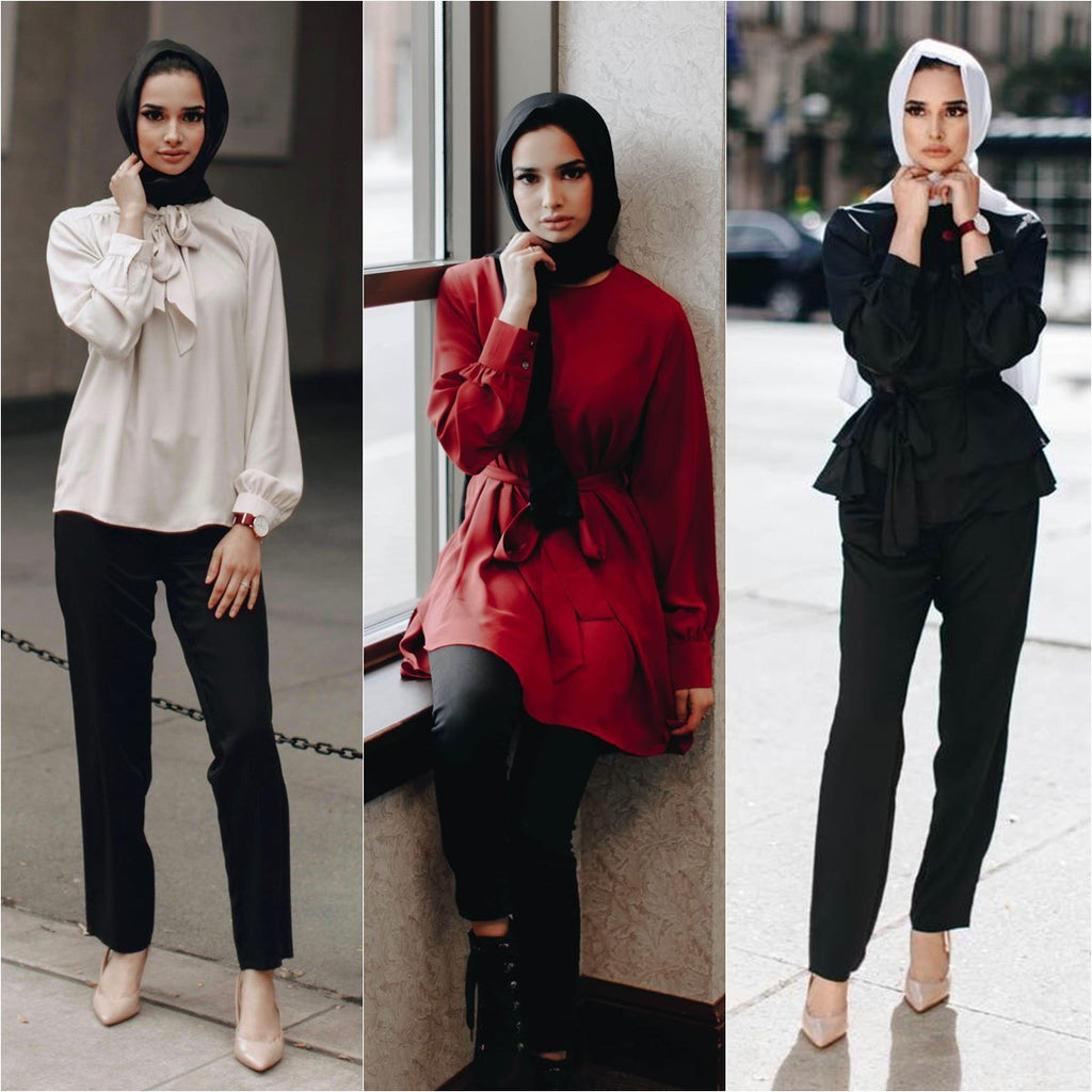 Inspire Your Workwear Wardrobe By Niswa Fashion Colletion-Niswa Fashion
