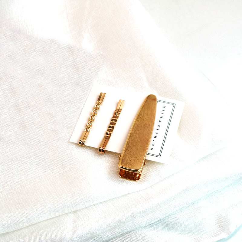 Rose Gold Pin Set-Niswa Fashion