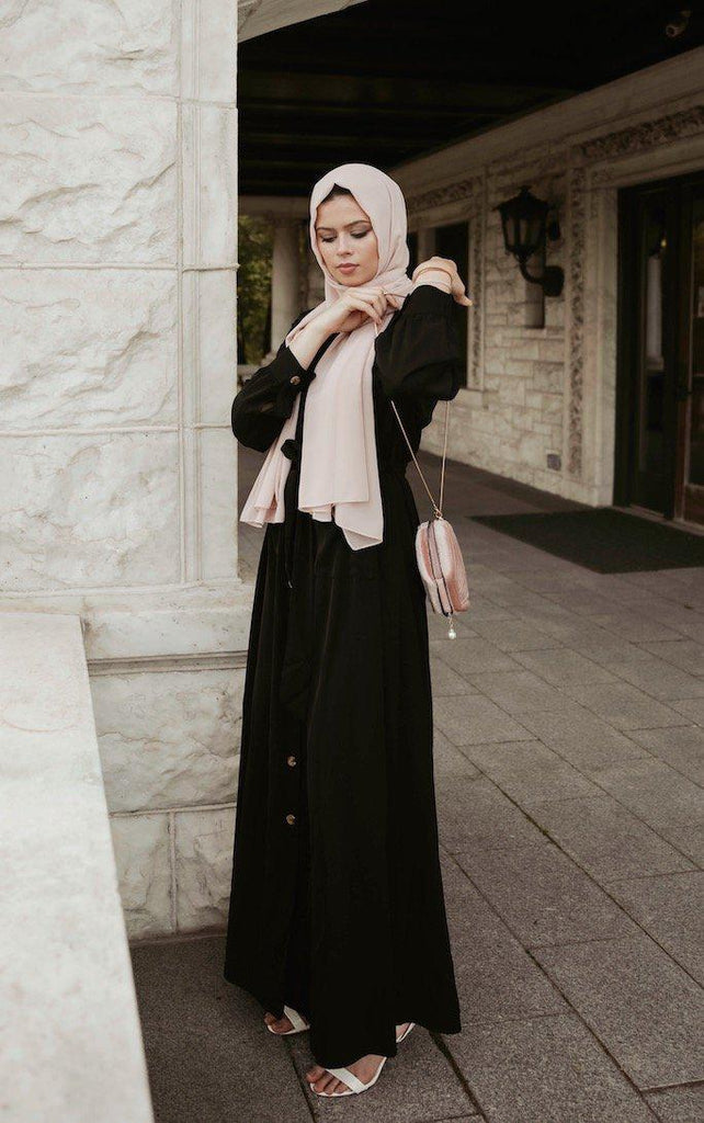 Athena Maxi Dress - Ebony-Niswa Fashion