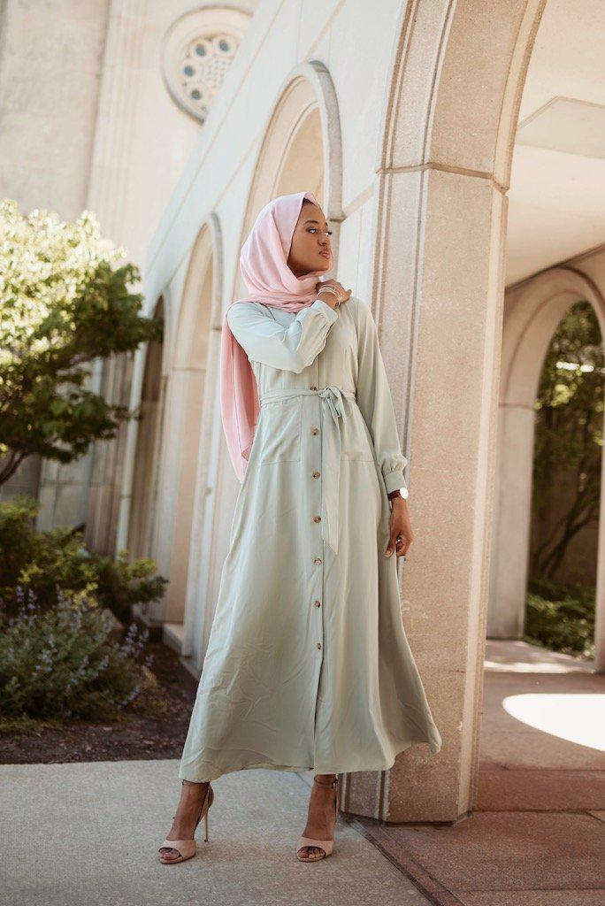 Athena Maxi Dress - Honeydew-Niswa Fashion