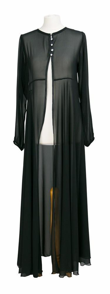 Black Trimmed Cardigan - Black-Niswa Fashion