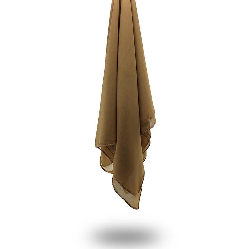 COFFEE Georgette Chiffon Scarf