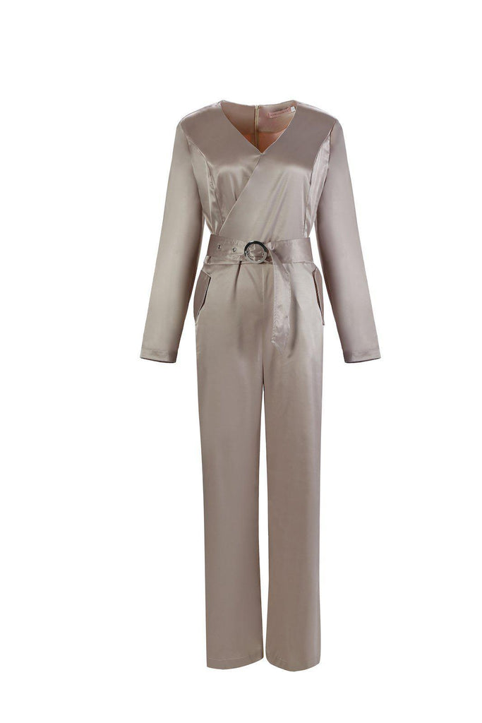 Dakota Jumpsuit - Morganite SALE-Niswa Fashion