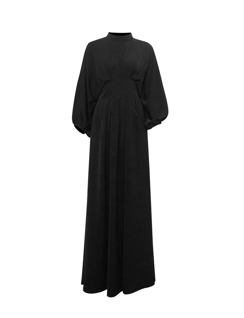 Elmas Maxi Dress - Coal-Niswa Fashion