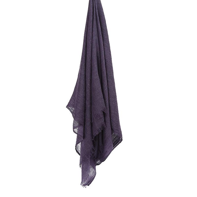 GRAPE Woven Viscose-AllScarves-Niswa Fashion