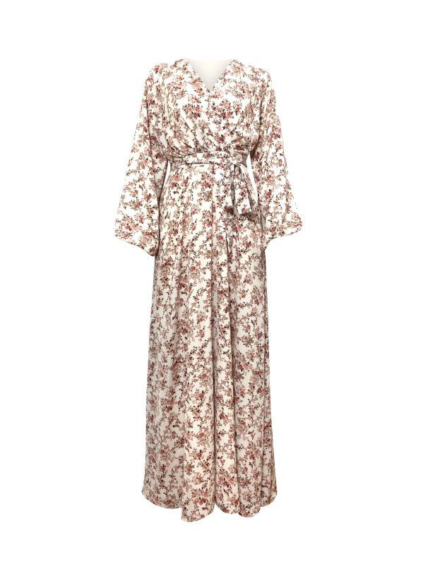 Les Fleurs Maxi Dress-Niswa Fashion