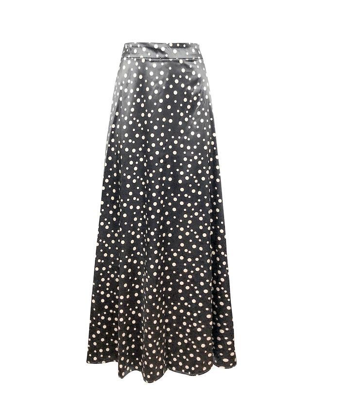 Madeline Skirt - Galaxy Grey-Niswa Fashion