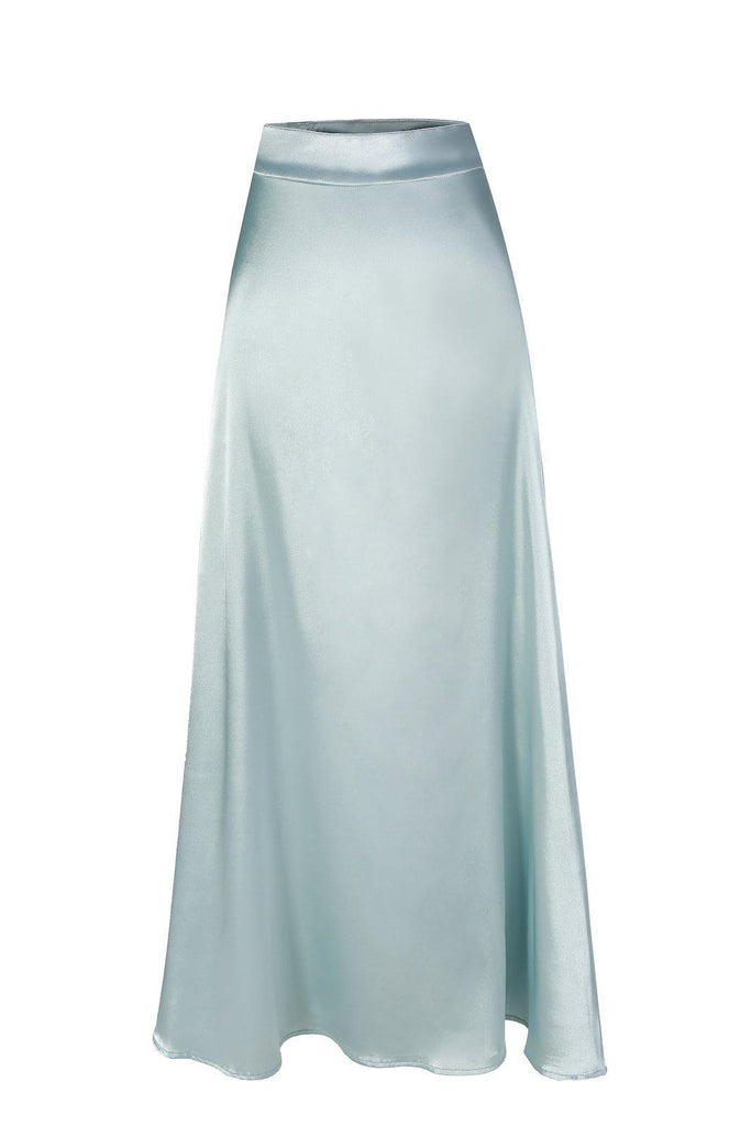 Madeline Skirt - Powder Blue SALE-Niswa Fashion