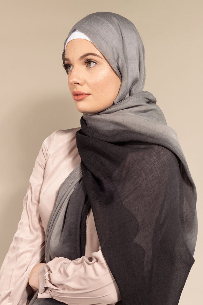 Ombre Woven Viscose - Blackberry Haze-AllScarves-Niswa Fashion