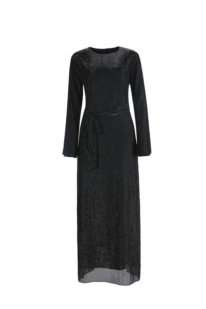 Raven Maxi Dress - Black-Niswa Fashion