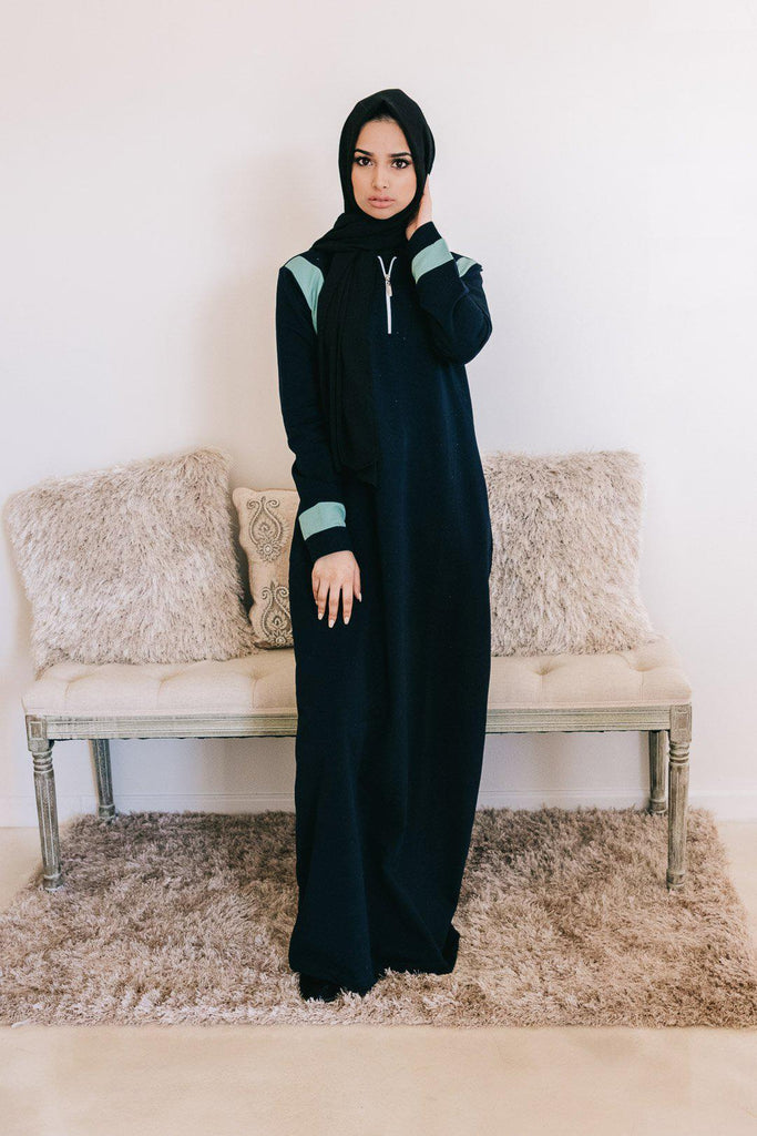 RIA Active Abaya - Navy-Niswa Fashion