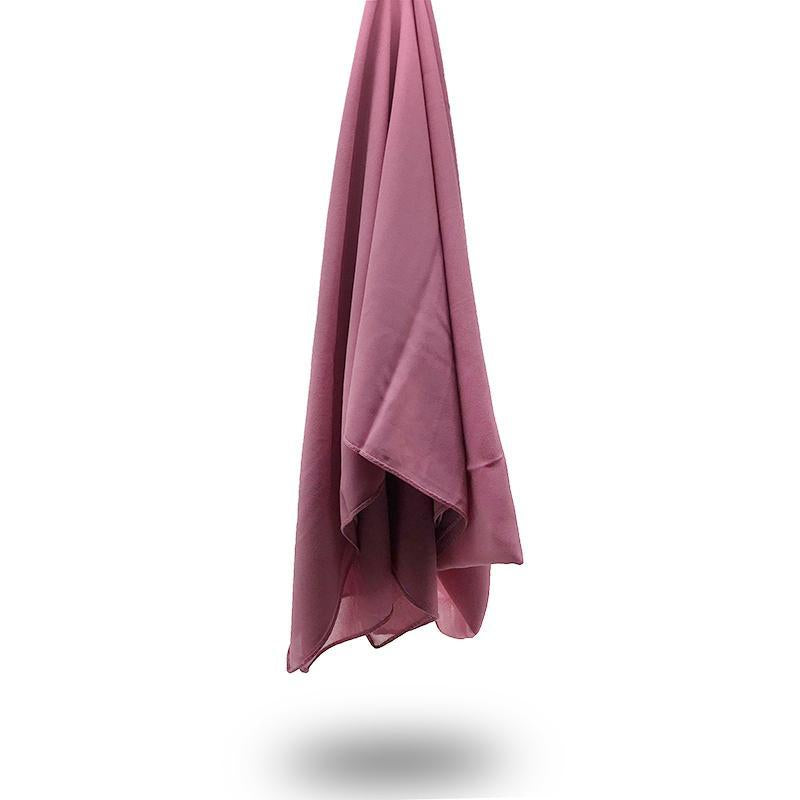 ROSE PINK Georgette Chiffon Scarf
